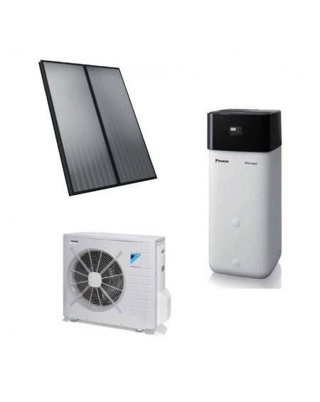 Sistema solare termico a Pompa di Calore HPSU Compact Daikin da 8 Kw completo di Cronotermostato e Fancoil Sabiana CRC 23