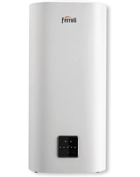 Ferroli - titano twin scaldabagno elettrico compatto a doppio serbatoio da 80 litri con wi-fi