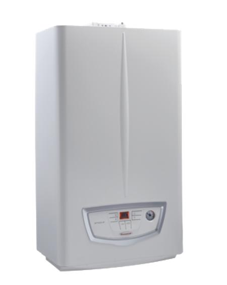 Caldaia Immergas a condensazione MYTHOS HP 24 kW completa di kit scarico fumi low NOx Wi-Fi METANO