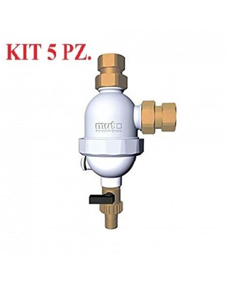 Kit Defangatori Super Compact magnetico e ciclonico MUT 5 pz