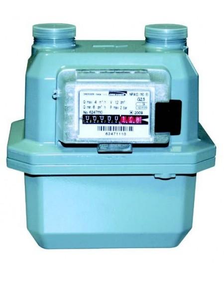 Contatore gas Classe G4 P.ta 6 m3/h GPL-Met. - Int. 110 tecnogas