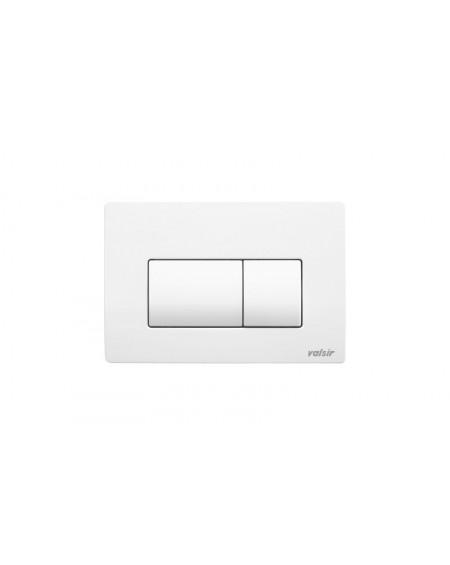 Placca di comando cassetta incasso scarico wc P1 bianca pneumatica doppio scarico Valsir