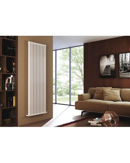 Radiatore ARDESIA 2 colonne h1856 elementi 5 colore bianco ral9010 cordivari