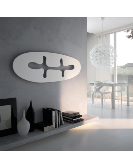 TERMOARREDO ULTRAPIATTO JUNGLE BIANCO 500×1300 ORIZZONTALE CORDIVARI DESIGN
