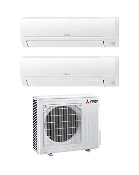 Climatizzatore Dual Split 9000 + 9000 Btu, Inverter, Classe A++/A+ Serie MSZ-HR